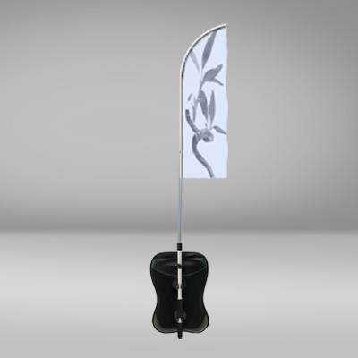 sac à dos avec drapeau oriflamme plume